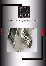 Keg King Stainless Head for MK II Magnetic Pump