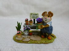 Wee Forest Folk The Garden Center Easter Edition M-295a Retired