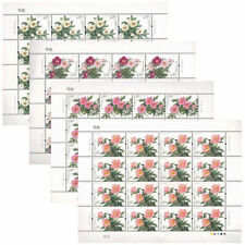 CHINA 2019-9 Chinese herbaceous peony Flower Stamps full sheet
