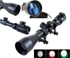 New 3-9x40EG Red Green Air Rifle Mil-dot Illuminated Optics Sniper Hunting Scope