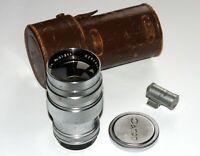 Canon Serenar 85 mm 2.0 Lens Leica LTM M39 Rangefinder Coupled SN 51311