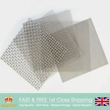 Coarse Filter Mesh (12 LPI x 0.34mm Wire x 1.78mm Hole) SS304 - 30cm Square