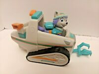 Paw Patrol Everest's Rescue Snowmobile Vehicle and Pup Dog Figure