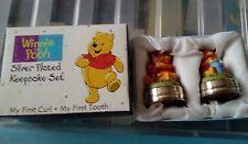 Winnie the pooh silver plated keepsake set