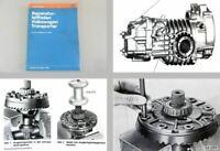 Reparaturleitfaden VW Transporter T3 Werkstatthandbuch 4-Gang Getriebe 091/I