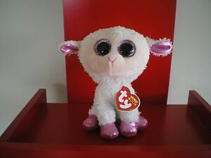 Ty Beanie Boos TWINKLE  lamb 6 inch NWMT. BRAND NEW RELEASE EASTER BEANIE BOO.