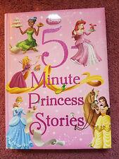 Disney*Princess - 5 Minute Princess Stories ~ Free Shipping!