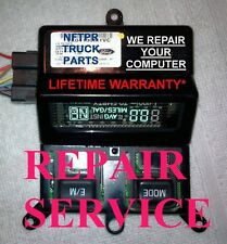 FORD SUPERDUTY F250 F350 OVERHEAD CONSOLE COMPUTER REPAIR SERVICE  1999  2000