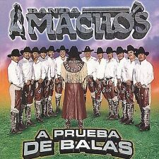 FREE US SHIP. on ANY 2+ CDs! ~Used,VeryGood CD BANDA MACHOS: Prueba De Balas Imp