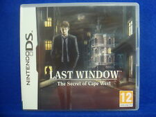 ds LAST WINDOW The Secret of Cape West Lite DSi 3DS Nintendo PAL REGION FREE