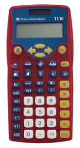 Texas Instruments 10 Basic Calculator