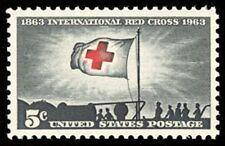 1963 5c International Red Cross, 100th Anniversary Scott 1239 Mint F/VF NH