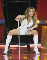Jennifer Lopez With Cane In Hand 8x10 Picture Celebrity Print