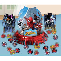 Spider-Man Table Decorating Kit Centerpiece Boys Birthday Party Supply SPIDERMAN