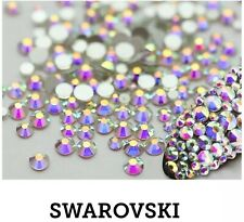 50 Swarovski AB Holographic Crystals. Nail Art Decor. Different Sizes Available!
