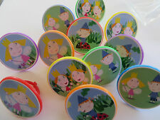 12 BEN and HOLLY'S Kingdom Rings CUPCAKE toppers - birthday party favor cake