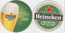 ★ HEINEKEN ★  collection prestige 2011  #1 Sous bock coaster deckel