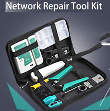 RJ45 RJ11 RJ12 CAT5 CAT5e Portable LAN Network Repair Tool Kit Cable Tester