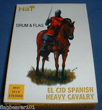Cappello 8213-EL CID SPANISH HEAVY CAVALRY - 1/72 scala in plastica