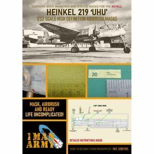 1 Man Army 1man32DET015 WH Heinkel HE-219 UHU 1/32