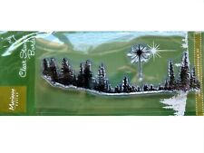 Marianne Design Clear Stamp - PINE TREES - Christmas Tree Star Forest Woodland