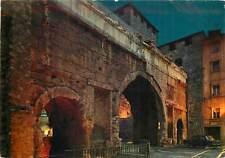 Italy Aosta Pretorian Gates by night