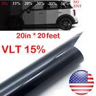 Uncut Roll Window Tint Film 15 Vlt 20 In X 20 Ft Feet Car Home Office Glass