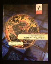 Web Design Using Macromedia Dreamweaver~Soft Cover-2003