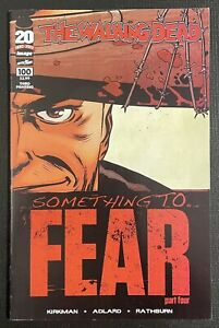 Waking Dead #100 - 1st Lucille - THIRD PRINT + Wraparound - Image Comics