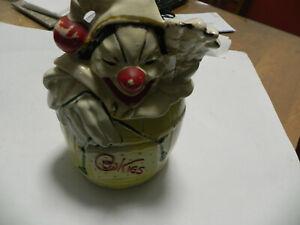 Vintage McCoy Clown Cookie Jar
