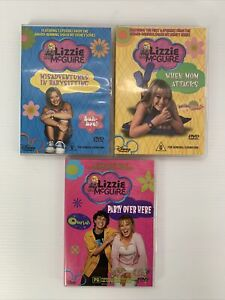 Lizzie McGuire 3x DVD Collection - Hilary Duff 17 Episodes Free Tracked Post