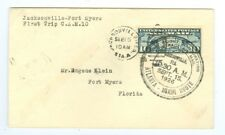 1926 U.S CAM FLIGHT COVER 10S7 JACKSONVILLE TO FT MYERS, BY FLORIDA AIRWAYS,C7