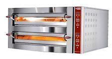 Elektro Pizzaofen Genius 66 für 2 x 6 Pizzen Ø 350 mm Gastlando