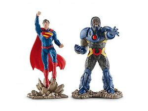 Figurine - Justice League - Coffret Superman vs Darkseid - Schleich