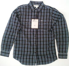 SALE! $56 NEW EZEKIEL SYLVA L/S SHIRT BLACK SMALL EL114063 code #35
