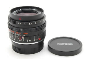 """""""N-Mint""""Konica M-Hexanon 28mm f/2.8 for Leica M Mount Excellent Ship from Japan"""