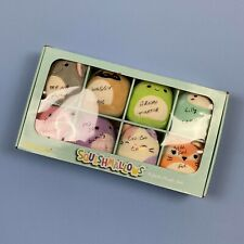 Squishmallows Mini Plush Set 8 Pack In Box Coco Cat Waggy Pug Lilly Lamb Henry