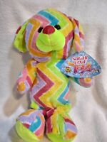 "Rainbow Giraffe Plush 14"" Sugar Loaf Kellytoy NEW 2017"