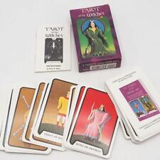 Tarot Of The Witches Stuart R Kaplan Complete Set & Book Vtg