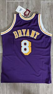 Kobe Bryant 1996-97 Authentic Mitchell & Ness Lakers Jersey size 44 New w/ Tags