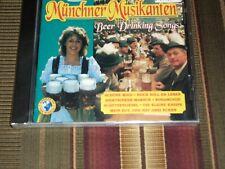 BEER DRINKING SONGS<>MUNCHNER MUSIKANTEN<>Portugal, Brand New CD ~SOW 90144