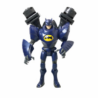 "DC Comics BATMAN (ANIMATED SERIES) Action Figure Twin Blasters Shadow tek 9"""