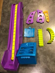 Polly Pocket Race to Mall Track Set Replacement Parts Motorized Ramp Escalator