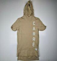 Carre Men's Size Small Vaurien Short Sleeve Hoodie/Jumper Cotton  - HM37