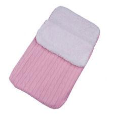 Baby Swaddle Blanket Wrap Newborn Sleeping Bag Warm Knitted Fleece Stroller Sack