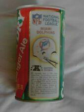 Vintage Miami Dolphins Helmet Canada Dry Empty Soda Can