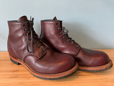 Red Wing Beckman Boots Black Cherry 10 Uk