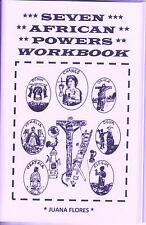 SEVEN AFRICAN POWERS WORKBOOK siete potencias africanas book 7 Orishas santeria