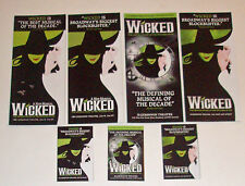 Wicked Broadway Musical Advertising Flyer Lot of Seven