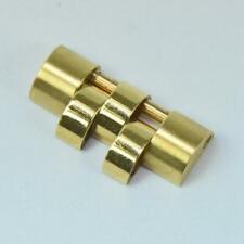 Rolex Ersatzglied Jubile Datejust Element 16,4 mm 18 Kt. 750 Gold neu #14986